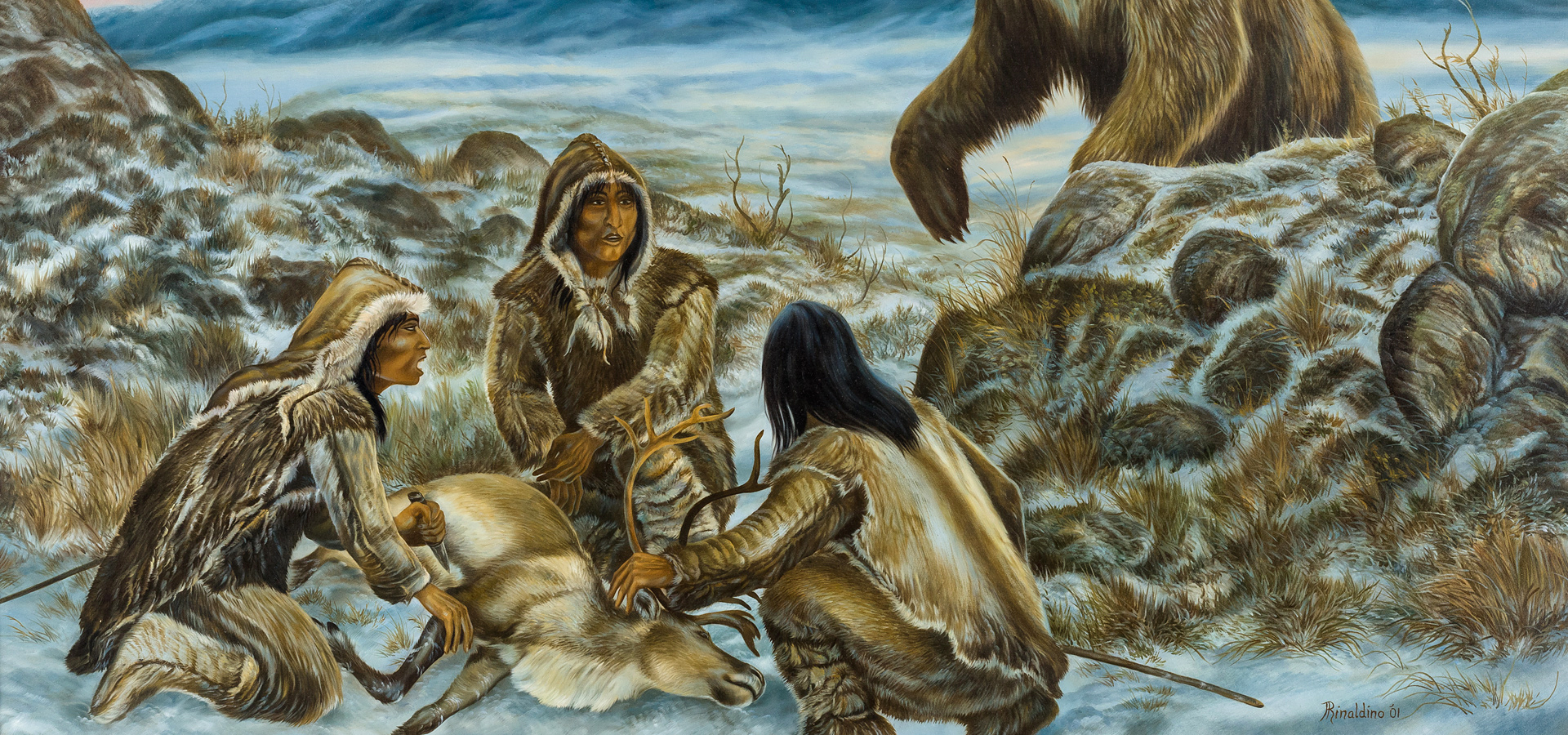 the first people yukon beringia interpretive centre